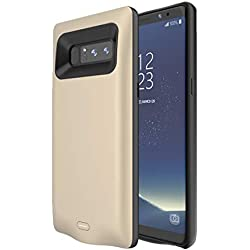 Blling 5500mAh Extended Battery Charging Cover Phone Case for Samsung Galaxy Note 8