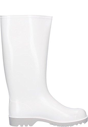 Nora Supermaxi, ohne Stahlkappe für den Lebensmittelbereich EN 347:92A, Gummistiefel in weiß Weiß