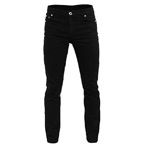 New Black RELCO Drainpipe/Skinny Jeans With Stretch - Size