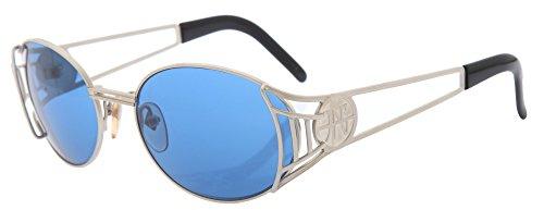 Preisvergleich Produktbild Jean Paul Gaultier Sonnenbrille Silber Schwarz JPG58-6102