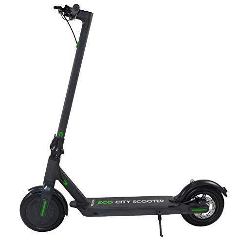 PRIXTON - Scooter Elettrico/ Monopattino Elettrico 8,5 pollici, Velocità massima 25km/h, Unisex, Nero | Scooter Eco City SCO850