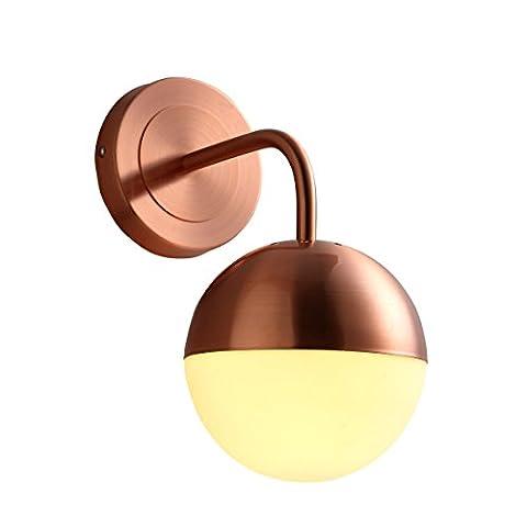 Amerikanische Minimalist Moderne Glas - Lampe Raum Schlafzimmer Mit Lampe Lampe - Treppe Kreative Bohnenstange Wall Lamp Warmes Licht