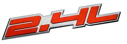 24l-liter-embossed-red-on-highly-polished-silver-real-aluminum-auto-emblem-badge-nameplate-for-satur