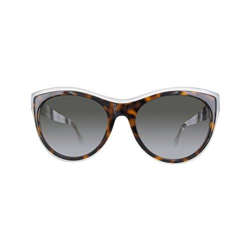 Occhiali da sole balenciaga ba0065 c56 56b (havana/other / gradient smoke)