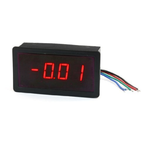 Price comparison product image 5V Power DC 5A Four Digits Red LED Display Screen Digital Ammeter