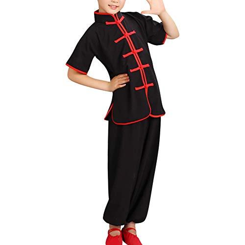 Kung Mädchen Kostüm Fu - uirend Kampfsport Bekleidung Kind Trainingsbekleidung Sets - Schüler Jungen Chinesisch Traditionell Tai Chi Uniformen Kung Fu Mädchen Anzüge Performance Kostüme