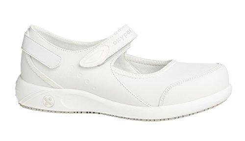 Oxypas Nelie, Women's Safety Shoes, White (Wht),7 UK(41 EU) Bianco (WHT)