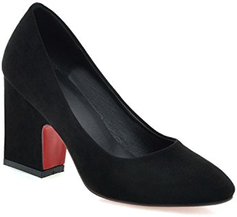 CYMIU Talons boudeuses Hauts des Femmes Chaussures Rugueuses Chaussettes boudeuses Talons Chaussures Chaussures Grosses, 36B07H71S72JParent e0bacb