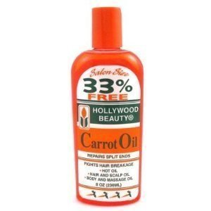 Hollywood Beauty - Hollywood Beauty Carrot Oil Repairs Split Ends - Volume : 236 ml.