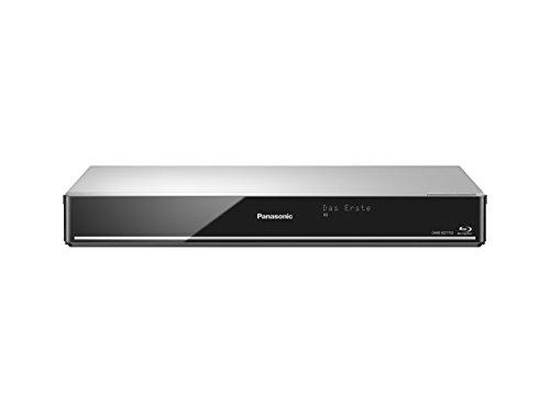 Panasonic DMR-BST755EG Blu ray Recorder (mit 500 GB Festplatte, für DVB-S, Twin HD Tuner, 4K Upscaling, WLAN, VoD, TV Anywhere, 2x CI+, HbbTV) silber
