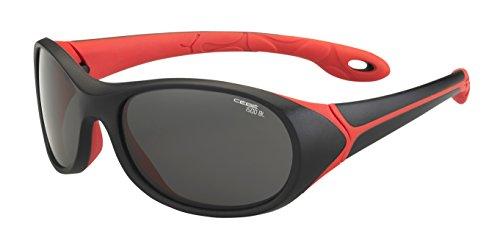 Cébé Kinder Sonnenbrille Simba Black/Red/Grey