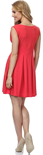 Merry Style Robe pour Femme MSSE0009 Corail