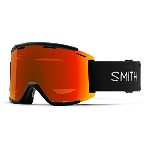 Smith Squad MTB XL Mountainbike-Brille Einheitsgröße Black/Chromapop Everday Red Mirror