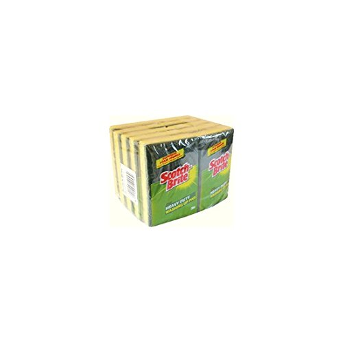 scotch-brite-washing-up-pad-scourer-und-sponge-ref-1821-pack-10
