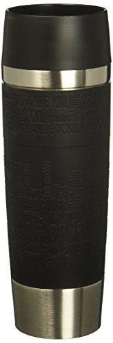 Emsa 515615 Isolierbecher (Mobil genießen, 500 ml, Quick Press Verschluss, Travel Mug Grande)...