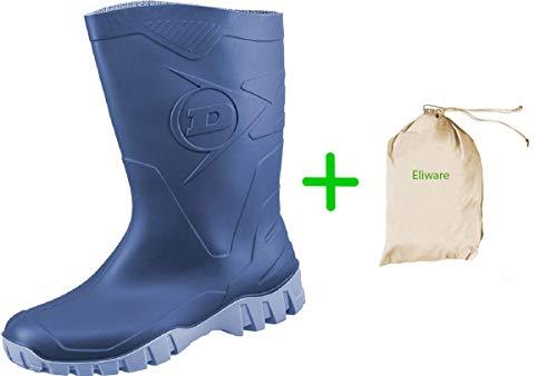 Bild von Dunlop Protective Footwear Unisex-Erwachsene Dee Gummistiefel inkluisve Hochwertigen Schmutzbeutel aus 100% Baumwolle