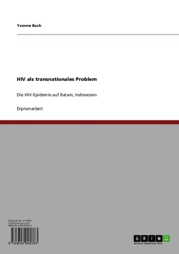 HIV als transnationales Problem: Die HIV-Epidemie auf Batam, Indonesien