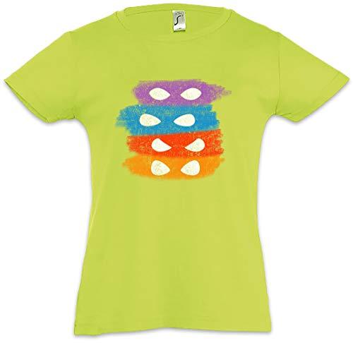 Turtle Masks Mädchen Kinder Kids T-Shirt