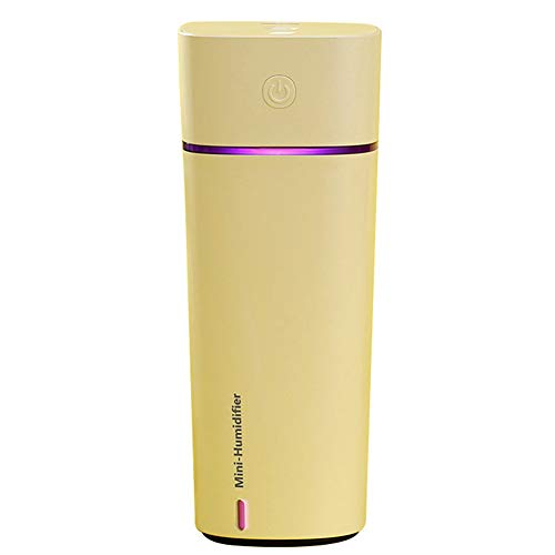 Humidificador 3 En 1 Ventilador USB Lámpara De Humidificación Escasez De Agua...