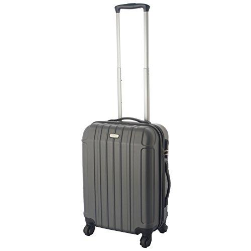 Cahoon – Hartschalen Koffer Trolley Handgepäck 4-Rollen Reisekoffer 301 (S-M-L zur Auswahl)