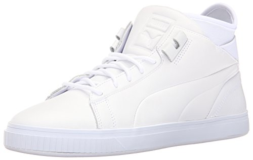 Puma Play PRM Cuir Baskets Puma White