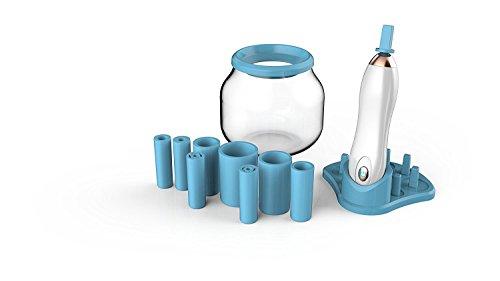 Limpiador de brochas de maquillaje profesional 2018 edición electrónica herramienta de máquina de limpieza limpia y seca completamente todos los tamaños de brochas de maquillaje en 30 segundos