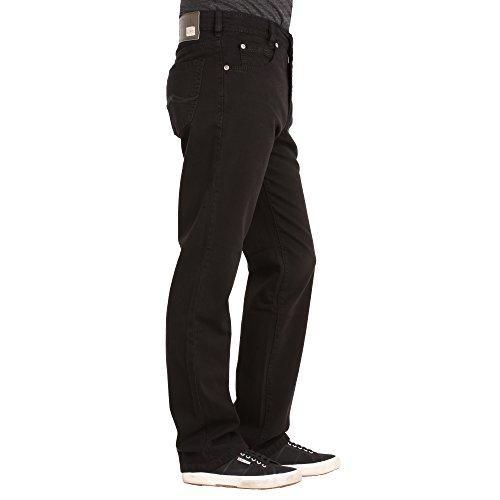 """Herren Jeans """"Clark"""" Comfort Fit Black"""