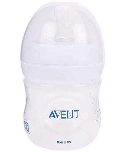 Philips Avent SCF690/17 Naturnah-Flasche, transparent, 1er Pack (1 x 125 ml)