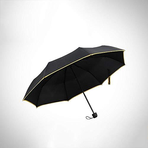 WDZZZ Regenschirm Mode-Persönlichkeit 8 Knochen Pack Frontier Schutz UV Bedienungsanleitung Regenschirm