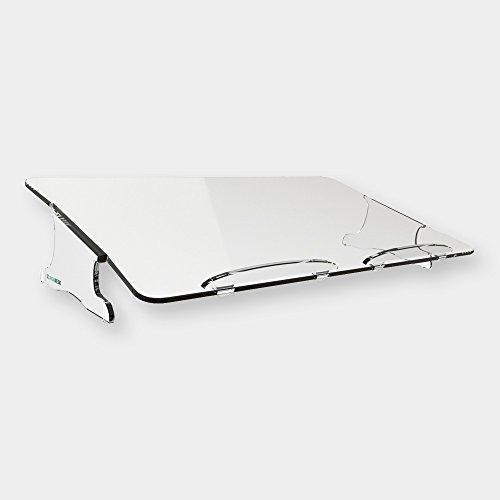 Orgadesk Classic T, Hochwertiger Ergonomischer Dokumentenhalter, 53,1 x 11,6 x 30,5 cm (LxHxT), Klar, 1 Stück
