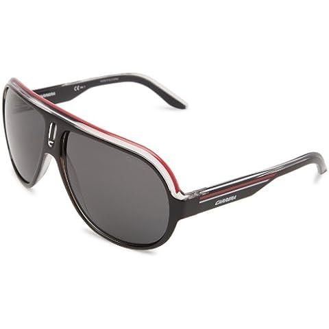 CARRERA Occhiali da sole SPEEDWAY/S 0YZZ Nero cristallo/Bianco/Rosso 63MM
