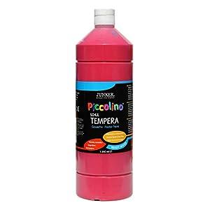 Piccolino Ready Mix Schultempera - Pintura (1000 ml), Color Rojo primario