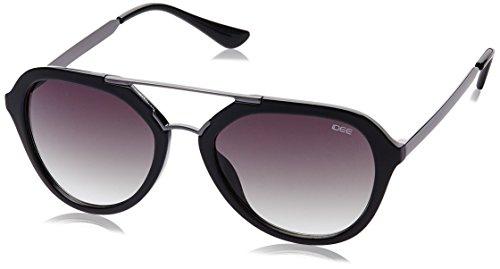 IDEE Gradient Square Unisex Sunglasses - (IDS2108C1SG|53|Green Gradient lens) image
