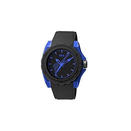 Watx Reloj Análogo clásico para Hombre de Cuarzo con Correa en Caucho REWA1845