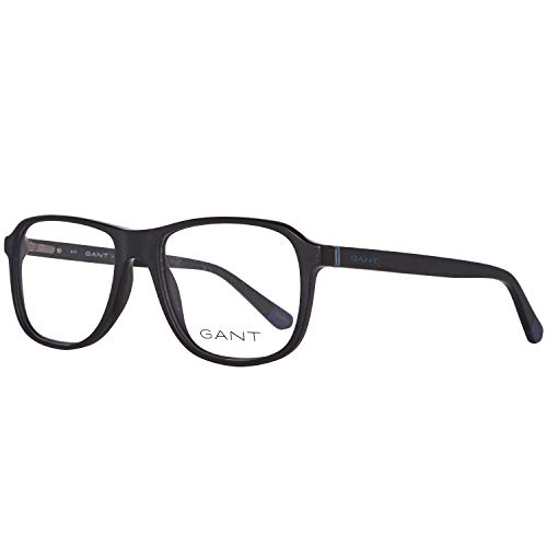 GANT Herren Brillengestelle Brille Ga3137 002 55, Schwarz