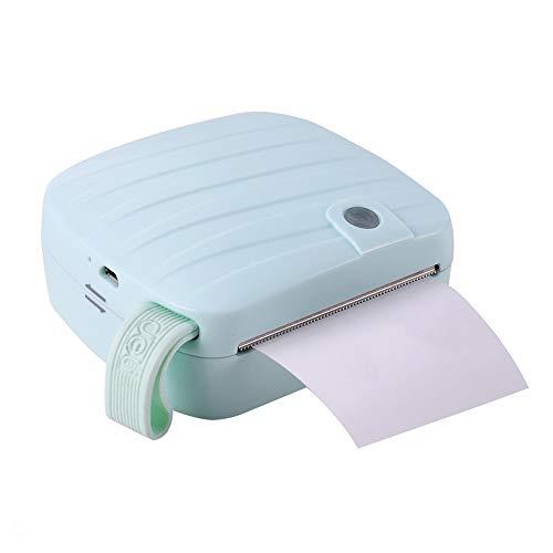 L&Z Mini Pocket Thermodrucker tragbaren Drucker Nachricht Cartoon Bilder Drucker Wireless Bluetooth Miniatur-Drucker