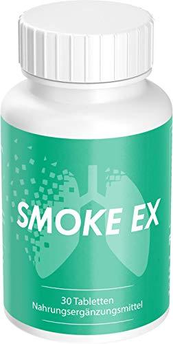 Smoke Ex - mit Natürlichen Wirkstoffen - 60 Kapseln, hergestellt in Deutschland (1)