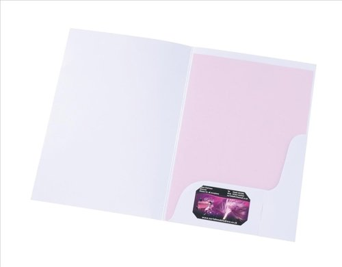 Corporate & Presentation Präsentationsmappe A4, 50 Stück, weiß-matt