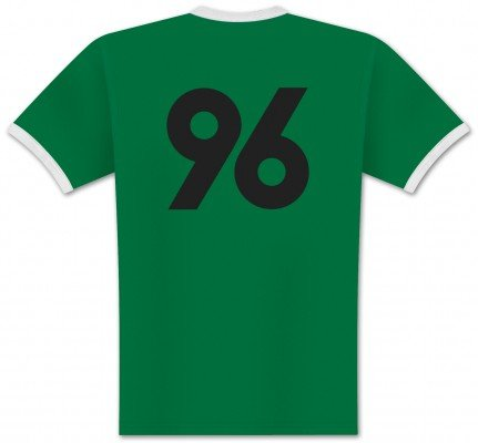World of Football Ringer T-Shirt Back 96 - XXL