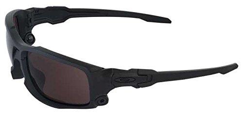 Oakley SI Ballistic Shocktube Matte Black/Prizm TR45 Titanium Iridium