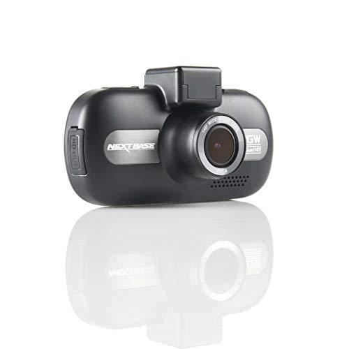 Nextbase 512GW - Full QUAD HD 1440p Dashcam Auto-Kamera mit GPS, DVR, WDR, WiFi, HDR, Polfilter & erweiterter Nachtsicht - Frontkamera - 140 ° Weitwinkel (Schwarz) (Power-base-quad)