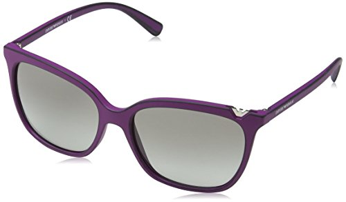 Emporio Armani Damen EA4094-560311-56 Sonnenbrille, Violet Used Effect, 56