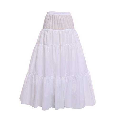 Remedios Hoopless 3 Layer A Line Bridal Petticoat Crinoline for sale  Delivered anywhere in UK