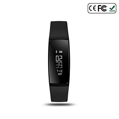 Fitness Armbänder mit Pulsmesser,Smart Fitness Tracker,Herzfrequenz Schrittzähler Schlafmonitor und Kalorienzähler, Aktivitätstracker Armband Uhr Intelligente uhr,Sleep Monitor für iPhone IOS und Android Smartphones