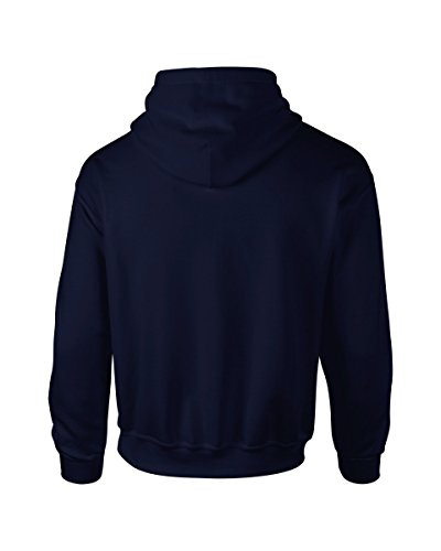 Gildan Heavyweight Ultra Hooded Sweat Blau - Navy