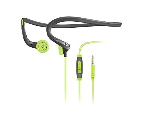Sennheiser PMX684i Cuffia Sport In-Ear con Neckband, Nero/Verde