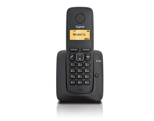 317tAKR4b4L - BEST BUY #1 Gigaset A120 Single DECT Cordless Phone - Black Reviews and price compare uk