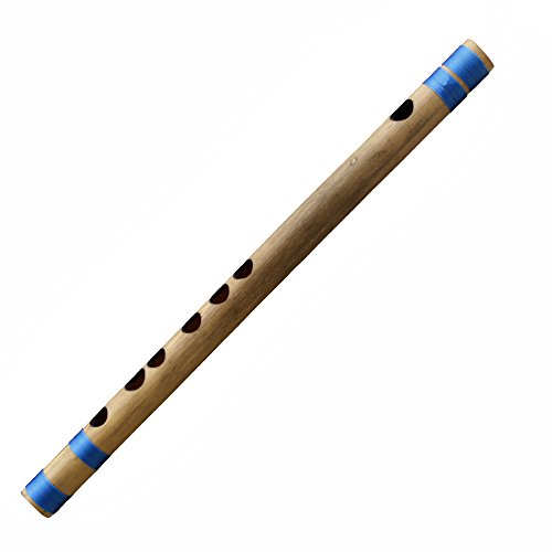 Querflöte Bansuri Bambus Flöte (A # Tune) Woodwind Musical Instrument für Professional 28cm