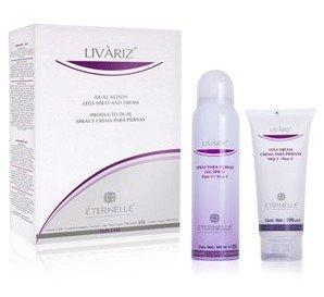 Livariz Eternelle Pharma - Alivio para tus piernas - Crema 100ml + Spray 100ml