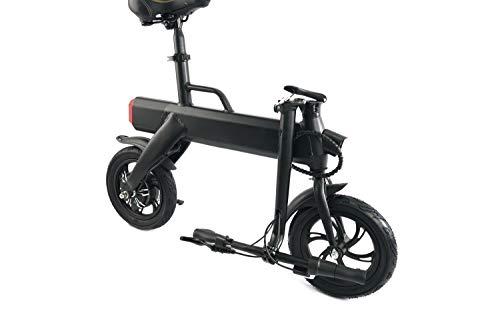 Urban Glide E-Bike 120 Negro Aluminio Litio 14 kg - Bicicletas eléctricas Litio, 6 Ah, 20 km, 36 V...